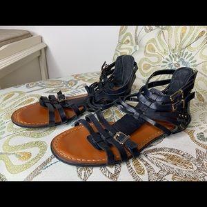 Jessica Simpson Ankle Strap Gladiator Sandals Sz 8